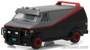 GMC VANDURA CARGO G.SERIES VAN A-TEAM 1983 SCALA 1/64 GREENLIGHT 44790B