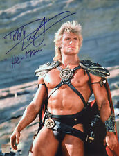 Dolph Lundgren HE-MAN Autographed Masters Of Universe 11x14 Photo 1 ASI Proof