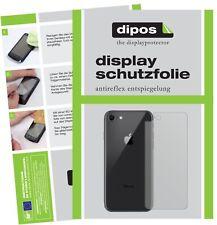 5x Schutzfolie für Apple iPhone SE 2 Rückseite Display Folie matt