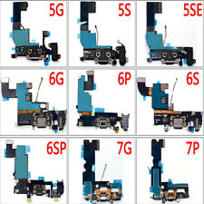 For iPhone 4S 5S 6 7 Plus SE USB Charging Charger Port Connector Dock Flex Cable