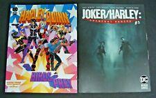 DC HARLEY QUINN AND THE BIRDS OF PREY # 3 & JOKER/HARLEY CRIMINAL SANITY # 5