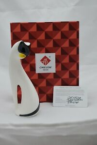 Cmielow Cat Sitting Porcelain Figurine. Boxed with Certificate