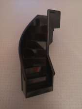 Lego - Black Stairs - Curved Enclosed -  6 x 6 x 9 1/3 Studs (2046)