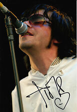 The Charlatans Tim Burgess Hand Signed 12x8 Photo Modern Nature 4.