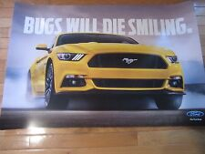"Ford Mustang poster 50th Anniversary NEW  24"" X 36"""