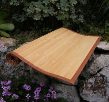 Bamboo Area Rug Natural Color Anji Mountain Asian Oriental Style 2' x 3' eco