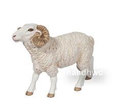 Papo 51129 Ram Sheep Model Farm Nativity Animal Figurine Toy Gift - NIP