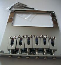 NEW Bridge TELE humbucker chrome 6 saddles chrome pour guitare Fender TELE