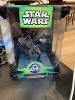 Star Wars Silver Anniversary - Han Solo and Chewbacca Death Star Escape HASBRO