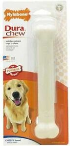 Nylabone DURABLE CHICKEN FLAVOR Dog Chews MADE IN USA 5 SIZE CHOICES