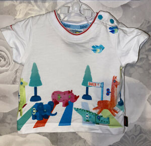 Boys Age 0-3 Months - Ted Baker T Shirt