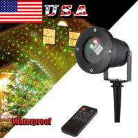 Christmas LED Projector Light Laser Indoor Outdoor Garden Lamp Xmas Waterproof