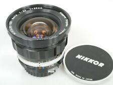 Nikon UD NIKKOR 3,5/20 20mm 1:3,5 20mm f3,5 Non AI Lens TOP Near Mint