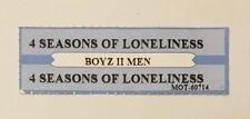 US Jukebox Title Strip, 4 Seasons Of Loneliness by Boyz II Men