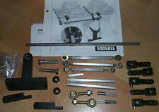 Genuine Dual Carb Linkage Kit Chevy Enderle Edelbrock Holley Tunnel Ram demon
