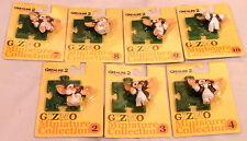 Gremlins: 7 Gizmo cardadas Figuras De Gremlins Ii Hecho En 2000 De Jun Planning