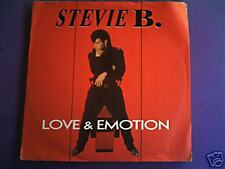 STEVIE B. Love & émotion
