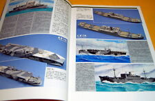 Visual Guide of wartime transport ship book from japan rare ww1 ww2 #0111