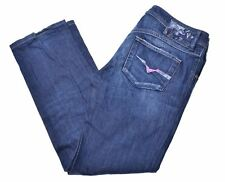 DIESEL Womens Jeans W29 L27 Blue Cotton Straight Newz DH11