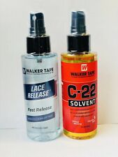 Walker Tape C-solvent Wig Adhesive Remover 4fl/ Lace Release Spray-4fl oz