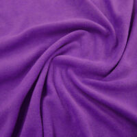 FLEECE FABRIC Available In 37 Plain Colours!! LARGEST STOCKIST OF FLEECE!!