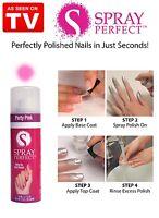 Spray Perfect Spray On Nail Polish 1.3 OZ - As Seen On TV-Choose Your Shade!