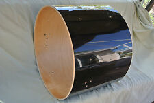 "SONOR FORCE 2001 22"" x 16"" BLACK BASS DRUM SHELL! FOR YOUR DRUM SET!!! LOT #A19"
