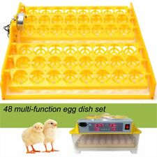 48 Egg Poultry Chicken Automatic Incubator Turner Tray Turning Motor Hatcher Pou