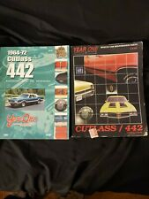 2 Year One Muscle Car Restoration Parts Catalogs for Cutlass / 442