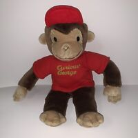 Gund Curious George Monkey With Red Hat Plush Stuffed Animal