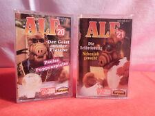 2 x Alf MC / Kassette / Folge 20 und Folge 21 / 1988 / 1989 / Karusell