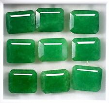 New Year Offer 90.11 Ct EGL Certified Natural Green Emerald Gems Lot 9Pcs BL1088