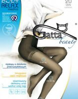 Anti-varix Relaxing and Correcting a figure tights Gatta Body Relax Medica 20den