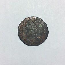 Pièce Monnaie 1656 LIARD DE FRANCE LOUIS XIV Buste Juvénile