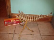Fairtrade vietnamien Bambou Xylophone Percussion nouveau coffret instrument de m...
