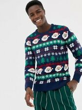 Pull & Beat Christmas Festive Jumper Sweater - Small