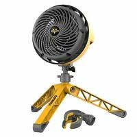 Vornado EXO5 Heavy Duty Small Air Circulator Fan with Tripod & Clamp Base