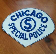 Chicago Special Police Embroidered Patch Illinois Cops
