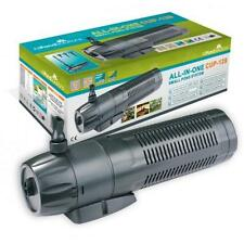 More details for pond filter / 9w uv steriliser / fountain pump all in one + spare bulb and foams