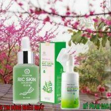 Combo Ric Wash Foam & Ric Skin Serum HA+ Help Nourish of Skin Moisture Balance