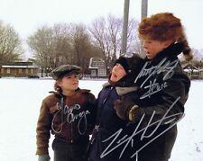 Schwartz - Anaya - Ward Signed Autographed 8x10 Photo  w/COA - A Christmas Story