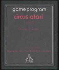 Circus Atari Cartridge for Atari 2600