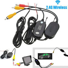 Transmitter Receiver For Car Reverse Camera Rear View Monitor 2.4Ghz Wireless