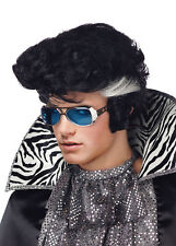 Vegas Bouffant Front Style Rocker Wig With Sideburns Seasonal Visions