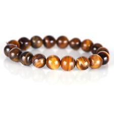 Natural Tiger Eye Stone Lucky Bless Beads Men Woman Jewelry Bracelet Bangle