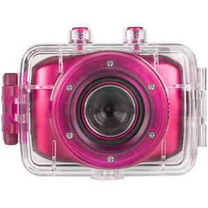 Vivitar HD Action Waterproof Camera / Camcorder - Hot Pink DVR781HD-HPNK