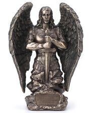 """9"""" Saint Michael Prayer Monument Archangel Michael Statue San Miguel Arcangel"""