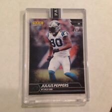 Julius Peppers #245 Panthers North Carolina 1/1 Made 2017 Panini Instant Black