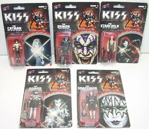 Bif Bang Pow KISS Psycho Circus & Rock and Roll Over Outfit LOT of 5 Sealed NEW