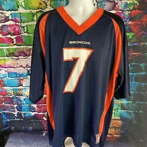 Team Nike Sports NFL John Elway Denver Broncos Football Jersey Men's 48 XL